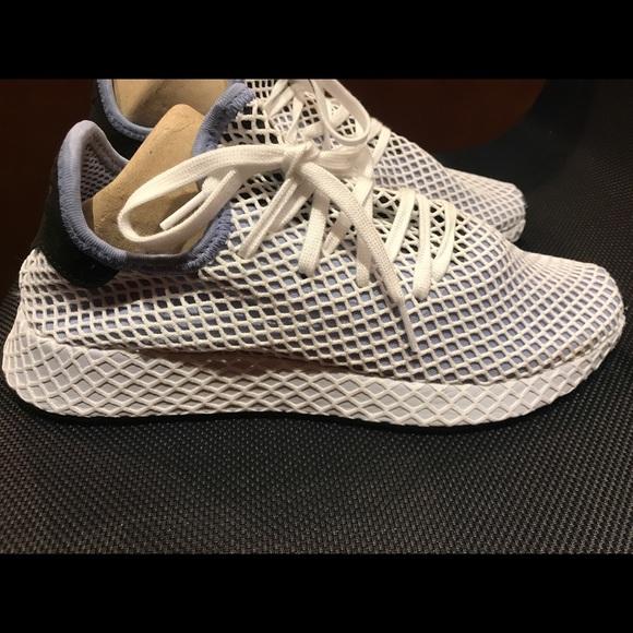 Adidas knit super light sneakers Sz. 10 like new!!